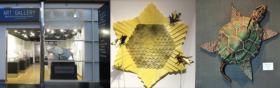 Picture of Origami Sculptures
